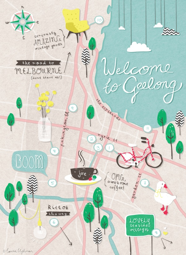 Geelong City Guide 183 With Oh Hello Geelong The Design