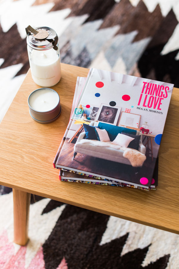 Megan Morton's Things I Love in the master bedroom! (DON'T FORGET to come to Megan's bedside booksigning on Sunday at 11.00am - 12.00pm!).   Photo - Brooke Holm.