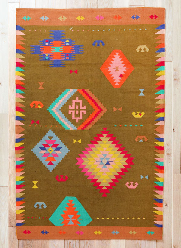 Beci Orpin For Urban Outers Kilim Rug