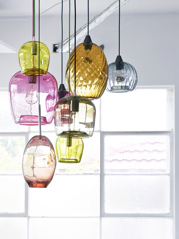 Mark douglass the design files australias most popular design blog handblown glass pendant aloadofball